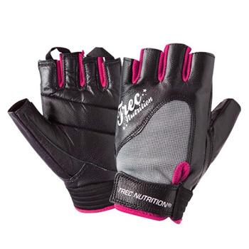 Trec Rękawiczki Fitness damskie BLACK - Rozmiar M